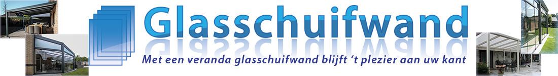 Glasschuifwand Logo